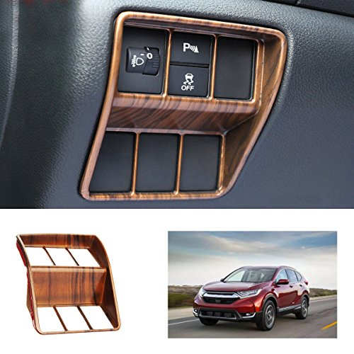 Headlamp Shift Underwrite Cut - Peach Wood Grain Headlight Switch Cover Trim - Overlay Tailored Trade Address Thin Change Traverse Garnish Exchange Covert Kempt Spread - 1PCs ()