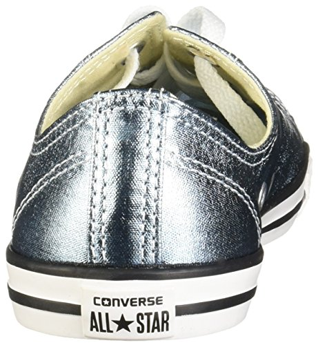 Dainty Womens Coastblackwhite All Blue Canvas Taylor Trainers Chuck Ox Blue Star Converse Coastblackwhite Azul HqFXS6F