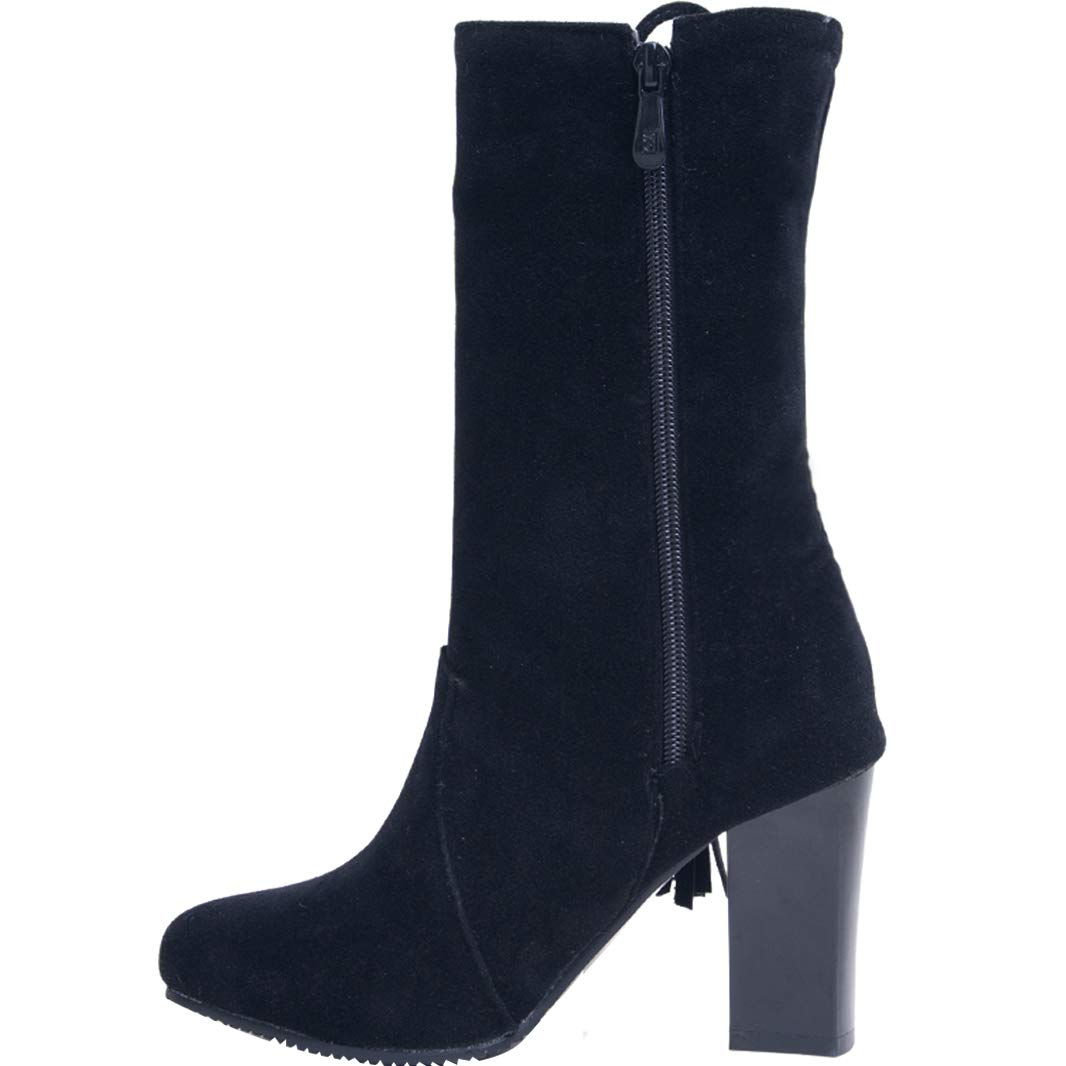 Mavirs Womens MaYell Boots Stiletto Ankle-high 8.5 cm Boots MaYell B07GLTN9ZT Boots 02bbce
