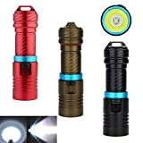 Pro New Underwater 100m 3000lm Xm-l T6 LED Scuba Diving 18650 Flashlight Torch Light bronze