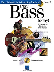 Play Bass Today! Level 2 Bgtr Book/Cd