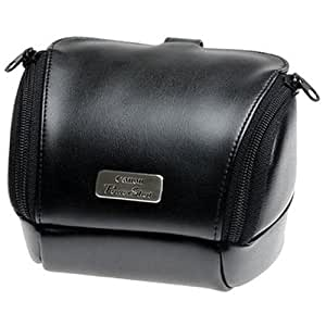 Canon PSC-4000 PowerShot Deluxe Soft Leather Case (Black)