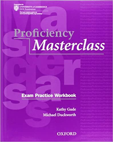 Proficiency Masterclass: Workbook Pack Without Key by Gude Duckworth (2009-12-06)