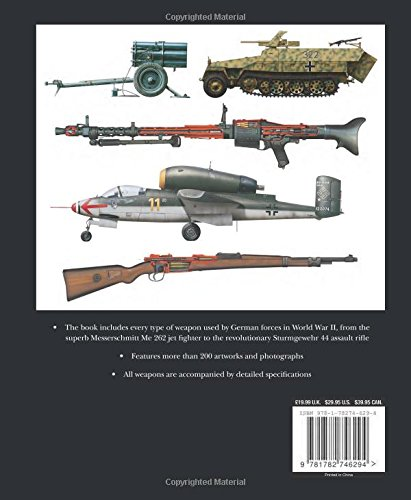 German Weapons of World War II: Dr  Stephen Hart: 9781782746294