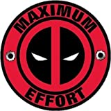 Deadpool Decal Maximum Effort Vinyl Sticker