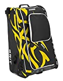 Grit Inc HTFX Hockey Tower 36'' Wheeled Equipment Bag Yellow HTFX036-BO (Boston)