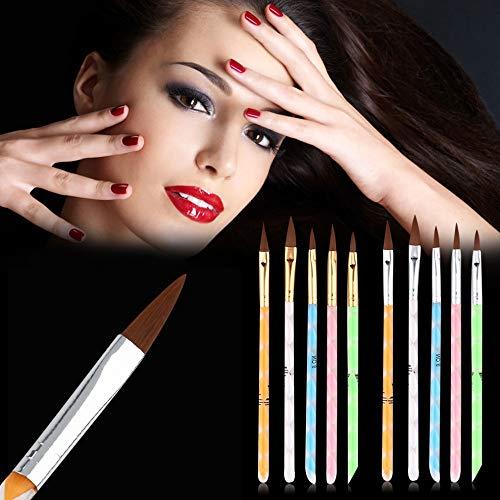 Renovatio Nails - 2017 5 pcs/Set DIY Professional Nail Art Brush Set Dotting Painting Drawing Polish Brush Pen Tools Drop Shipping Wholesale]()