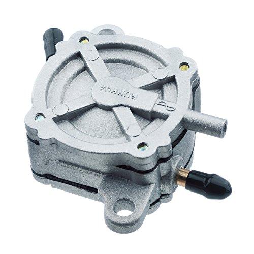 (HIFROM Gas Fuel Pump for GY6 50cc 150cc 250cc ATV Moped Go Kart Petcock Scooter,Fuel Pump Valve Petcock)