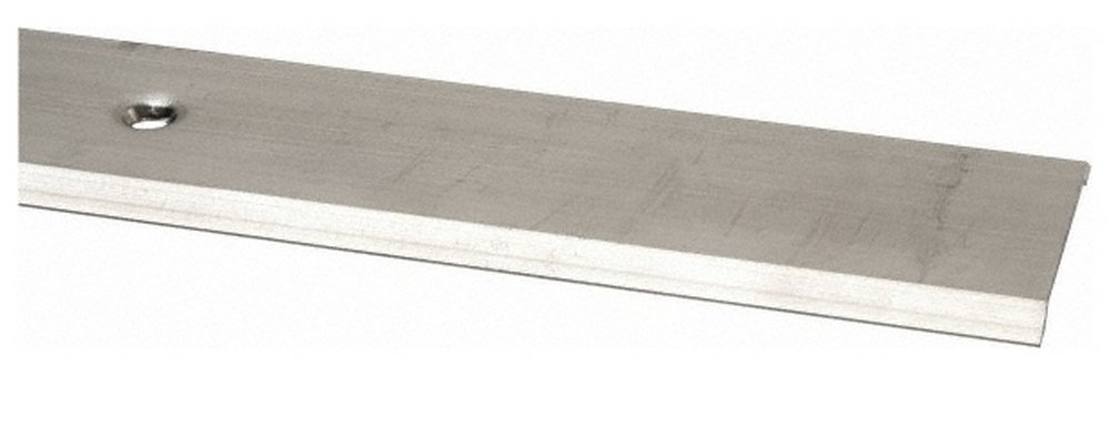 48'' Long x 2-1/4'' Wide x 3/16'' High, Saddle Threshold, Mill Finish Aluminum