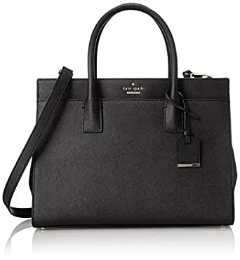 kate spade new york Cameron Street Candace Satchel Bag, Black, One Size