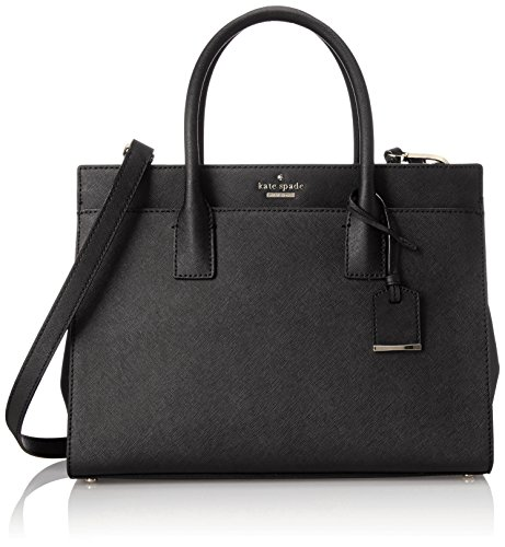 kate spade new york Cameron Street Candace Satchel Bag, Black, One Size -