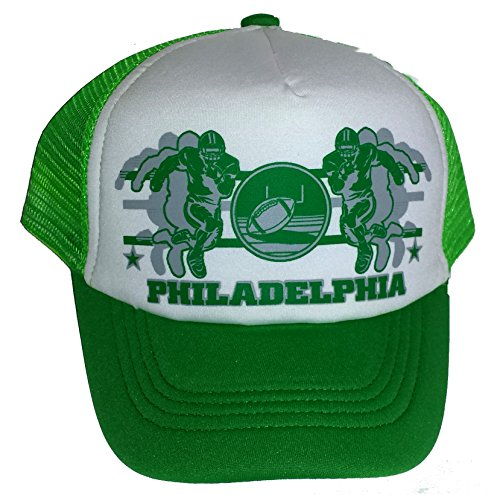 ThatsRad Toddler Kid's Philadelphia Football Snapback Mesh Trucker Hat Cap