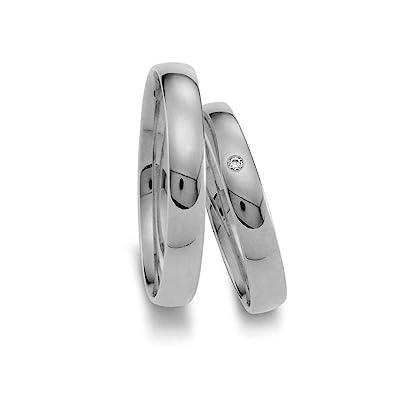 Trauringe Eheringe Verlobungsringe Ringe Gold Weissgold 585 Paarpreis