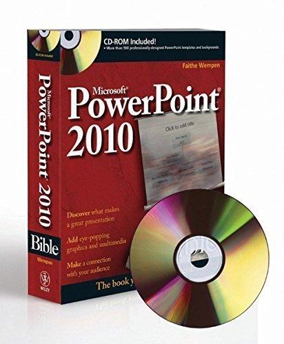 PowerPoint 2010 Bible by Faithe Wempen (2010-05-10)