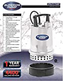 Superior Pump 91592 Stainless 1/2 HP Steel Utility