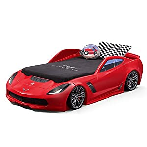 Step2 Corvette Z06 Toddler Bed to Twin Bed 10