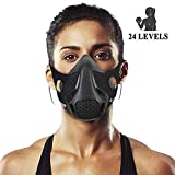 Chriffer Workout Mask with 24 Breathing