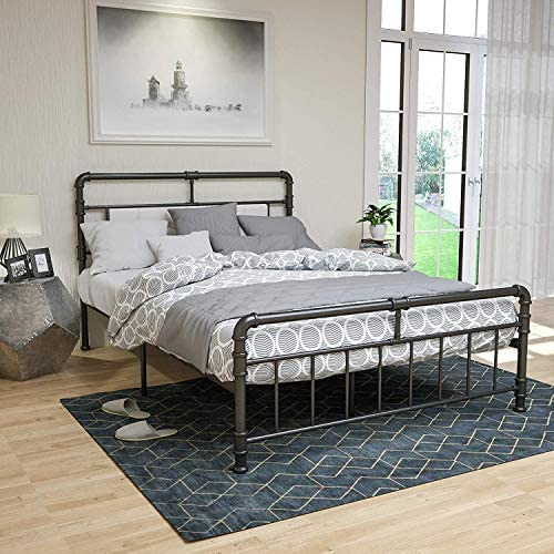 LAGRIMA Metal Queen Bed Frame