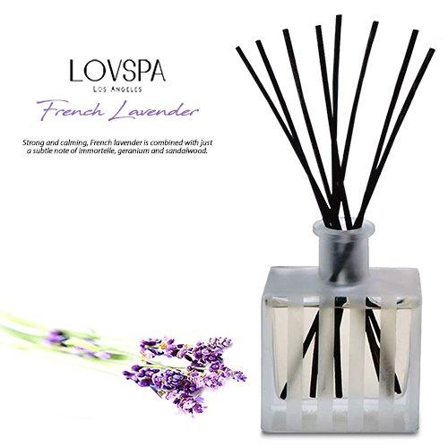 LOVSPA French Lavender Luxury Home Fragrance Diffuser Reeds Set