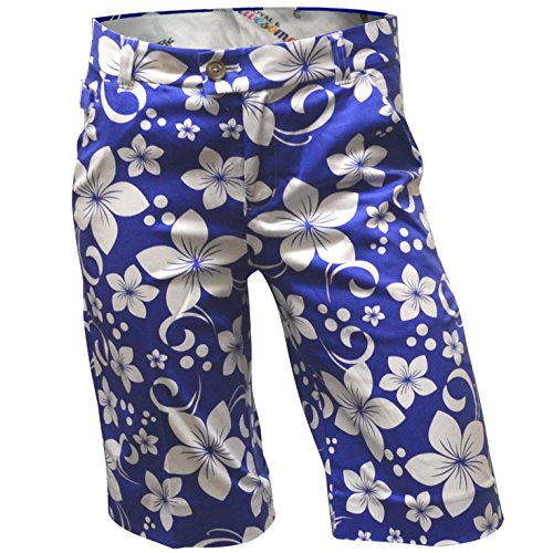 Royal & Awesome Women's Golf Shorts, Hawaii Five Oh, US 6/UK 10