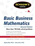 img - for Schaum's Outline of Basic Business Mathematics, 2ed (Schaum's Outlines) book / textbook / text book