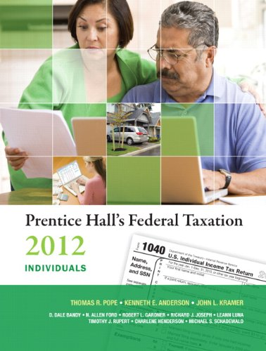 Prentice Hall's Federal Taxation 2012: Individuals