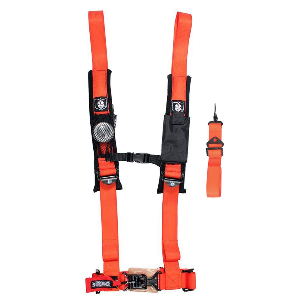 Pro Armor A115220OR Orange 5-Point Harness 2'' Straps by Pro Armor (Image #1)