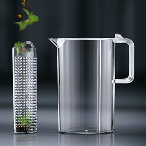 Bodum Ceylon Ice Tea Jug with Filter, 3.0 Liter, 101 Ounce, Clear by Bodum (Image #1)
