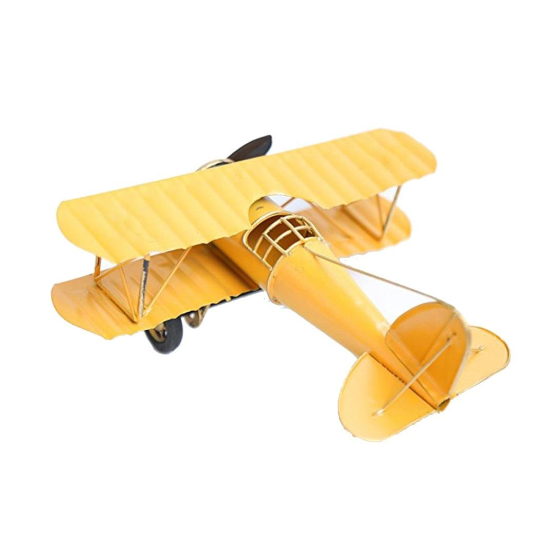 Amazon.com : Livoty Simulate Metal Airplane Model for Kids Toy Plane ...
