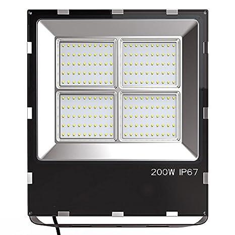 Proyector Led PRO SMD2835, 200W, Blanco cálido: Amazon.es: Iluminación