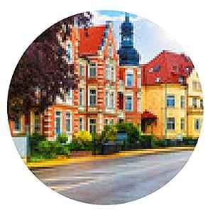 alfombrilla de ratón Schwerin, Alemania - ronda - 20cm