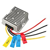 uxcell DC12V Step-Up to DC 24V 5A 120W Waterproof Car Power Supply Module Voltage Booster Converter Regulator Transformer