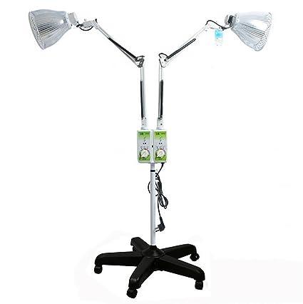 Meida TDP tipo lámpara de infrarrojos wärmeregulierbare Dos cabeza Warmed Instrumento luz terapia dispositivo Far de
