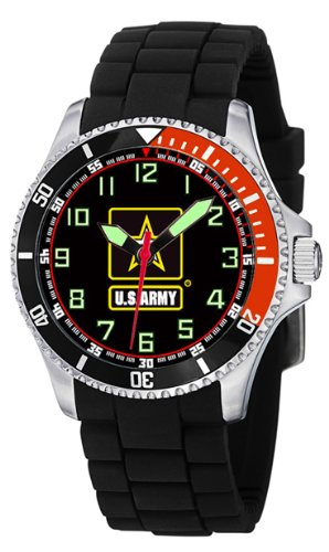 Aqua Force Army Stainless Steel Case Dive Watch with 47mm Face