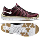 Nike Nike Free Trainer 5.0 V6 Amp Mens Burgundy Mesh Athletic Training Shoes 9 For Sale