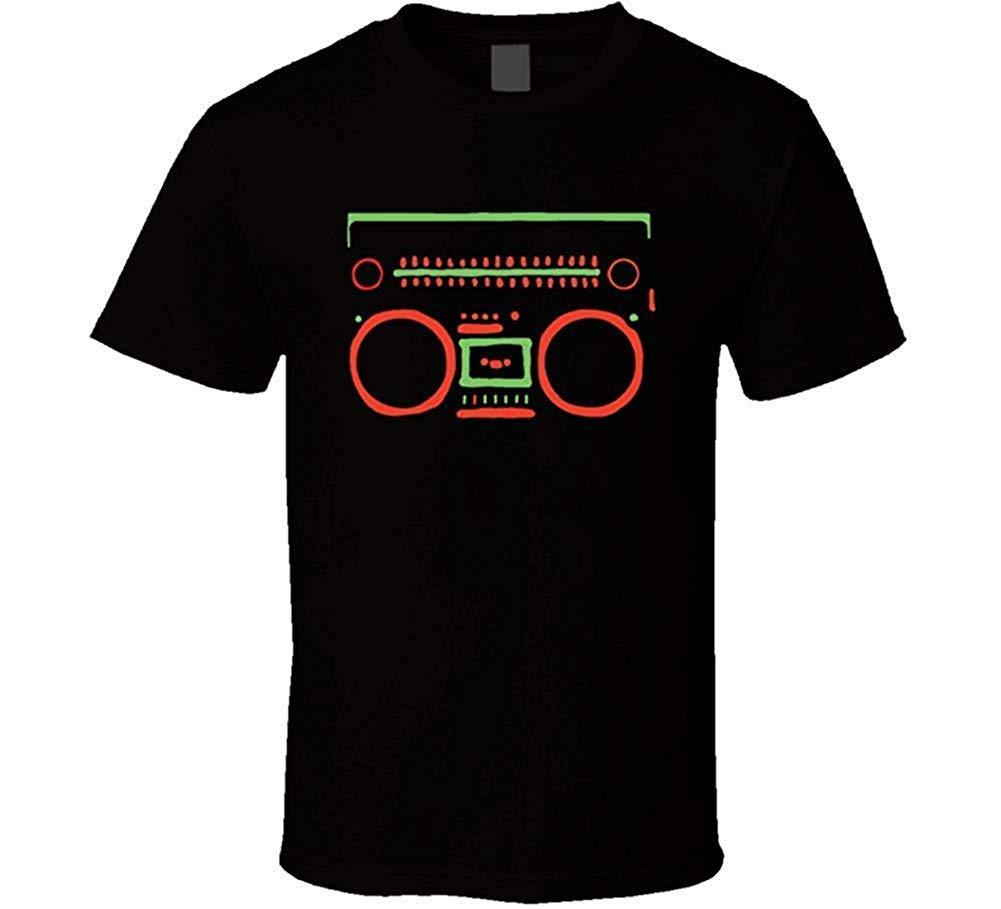 A Tribe Called Quest Boombox Logo 90s Rap Hip Hop Music Tshirt