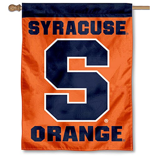 College Flags and Banners Co. Syracuse University Banner House Flag by College Flags and Banners Co.