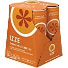 IZZE Fortified Sparkling Juice, Clementine (4 Count, 8.4 Fl Oz Each)