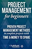Project Management For Beginners: Proven Project Management Methods To Complete Projects with Time And Money To Spare