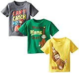 Curious George Boys Boys Assorted T-Shirt 3-Pack No 1