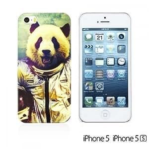 OnlineBestDigital - Animal Style Designer Hard Case Cover for Apple iPhone 5S / Apple iPhone 5 - Panda