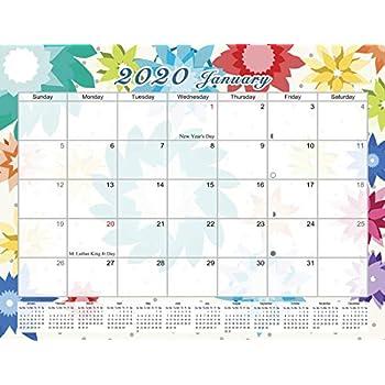 2020 Monthly Magnetic/Desk Calendar - 12 Months Desktop/Wall Calendar/Planner - (Edition #07)