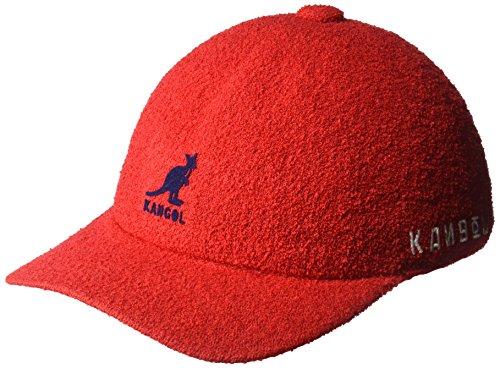 - Kangol Men's UFO Spacecap Baseball Cap, Scarlet L