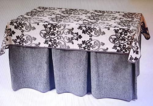 Desconocido Enagua+tapete para Mesa de 120 * 70cm: Amazon.es: Hogar