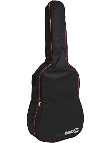 c1c481910d4 RockJam Padded Acoustic Guitar Bag with Carry Handle and Shoulder Strap