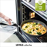 GreenPan Levels Stackable Hard Anodized Ceramic