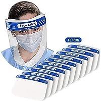 mascarilla facial reutilizable transparente transparente de cara completa 5 Piezas Protectores Faciales de Seguridad con Esponja Ojo Protecci/ón