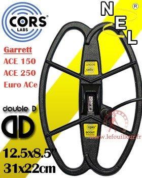 Placa Cors Scout para serie Garrett Ace 150 250 350 EuroAce Coil Repuesto Bobina Performante mejora Le Rendimiento deltuo Garrett: Amazon.es: Bricolaje y ...