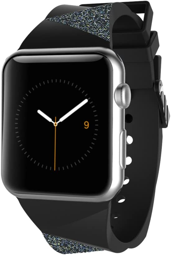 Case-Mate Smartwatch Replacement Band for Apple Watch - Retail Packaging - Black