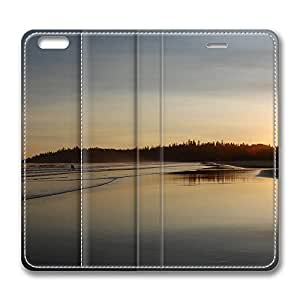 iPhone 6 Leather Case, Personalized Protective Flip Case Cover West Coast Just Like Glass for New iPhone 6